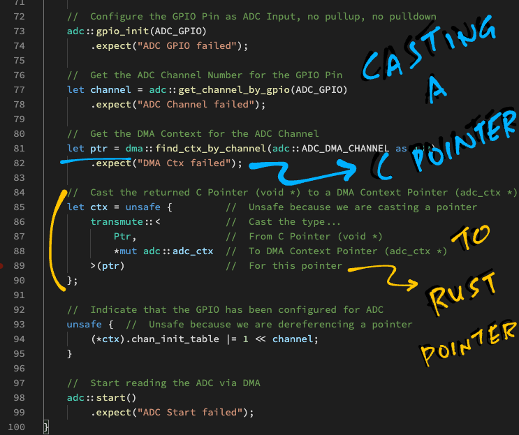 Casting a C Pointer in Rust