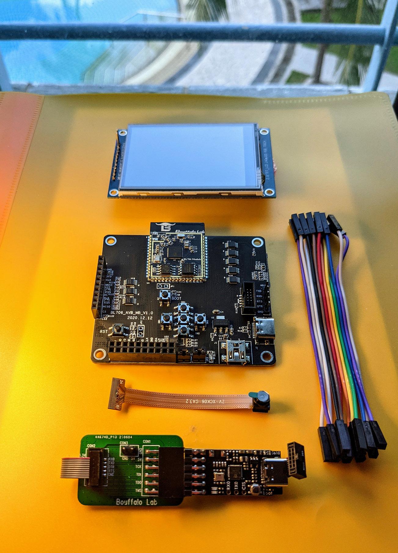 BL706 Audio Video Board