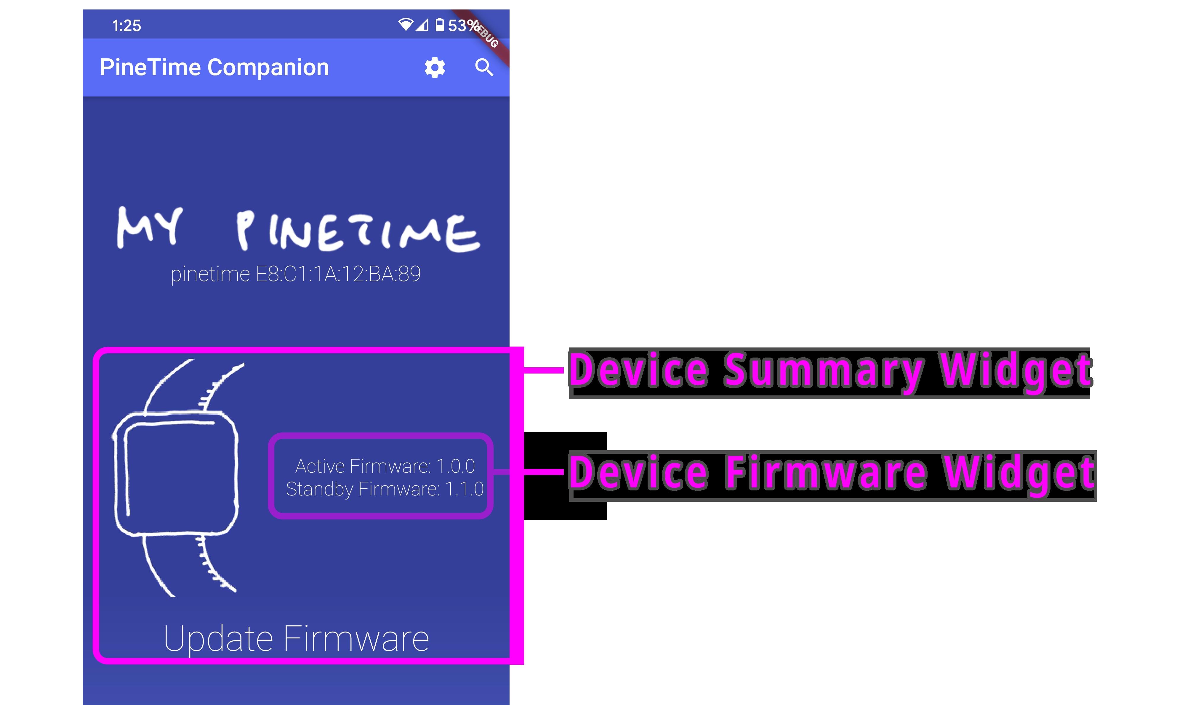 Device Summary Widget