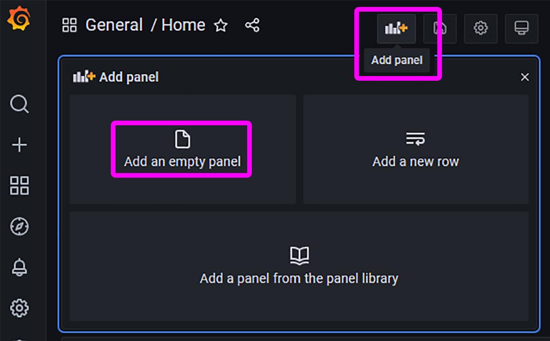 Add Panel