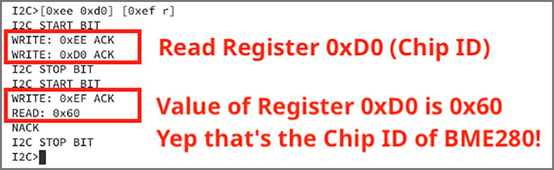 Read register 0xD0