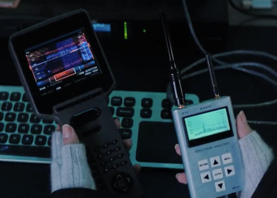 RF Explorer (at right) featured in WandaVision season 1 episode 4