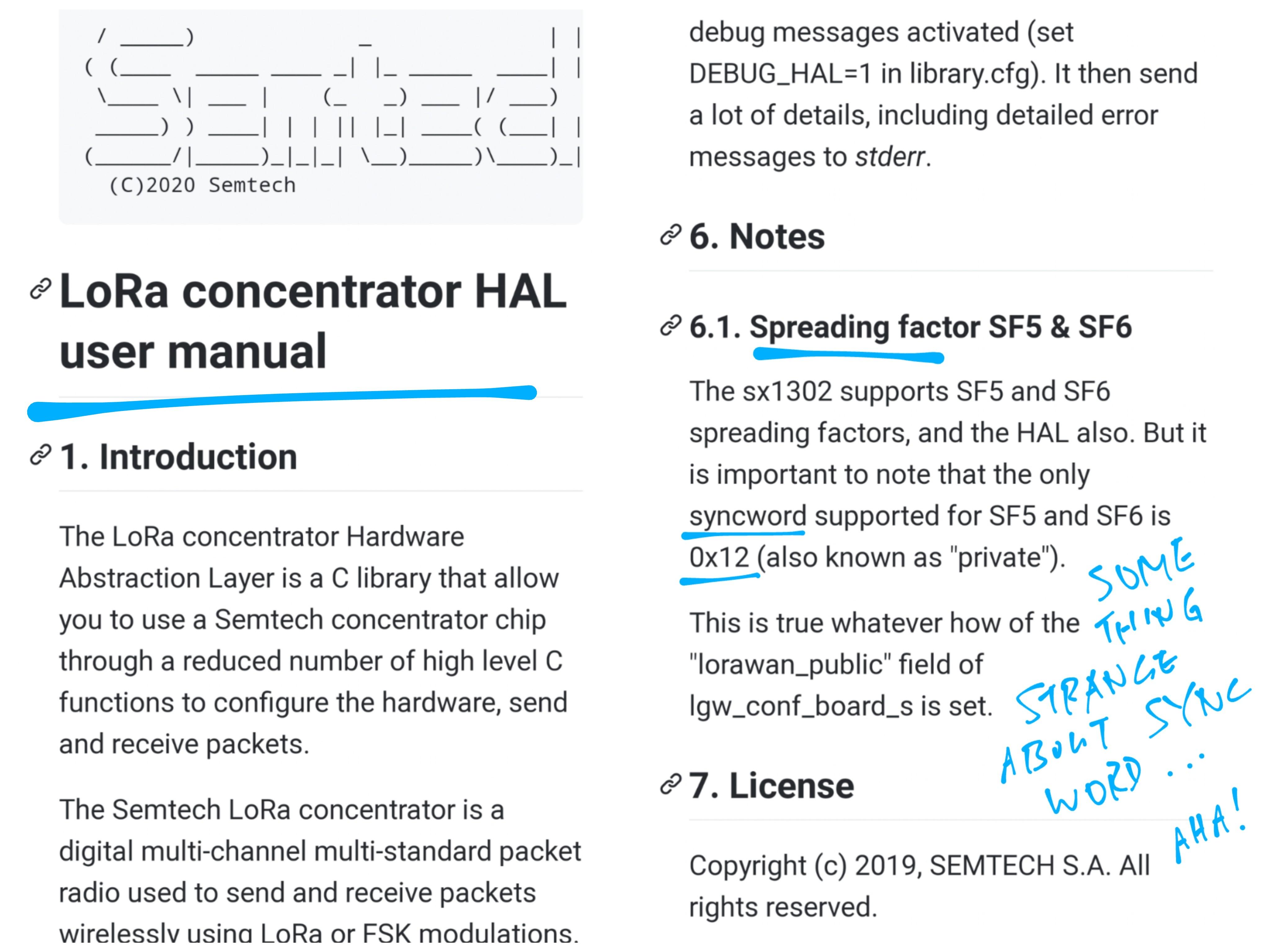 LoRa Concentrator HAL User Manual