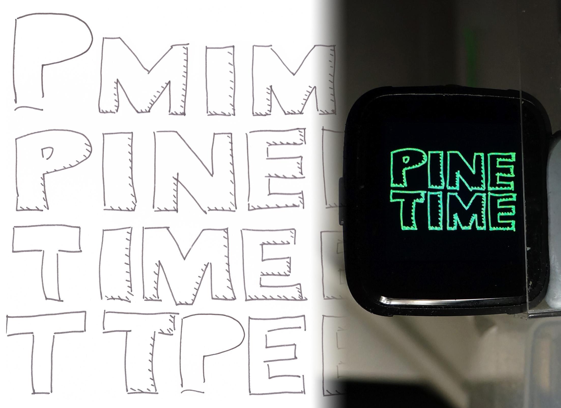 Enhanced MCUBoot Bootloader running on PineTime Smart Watch