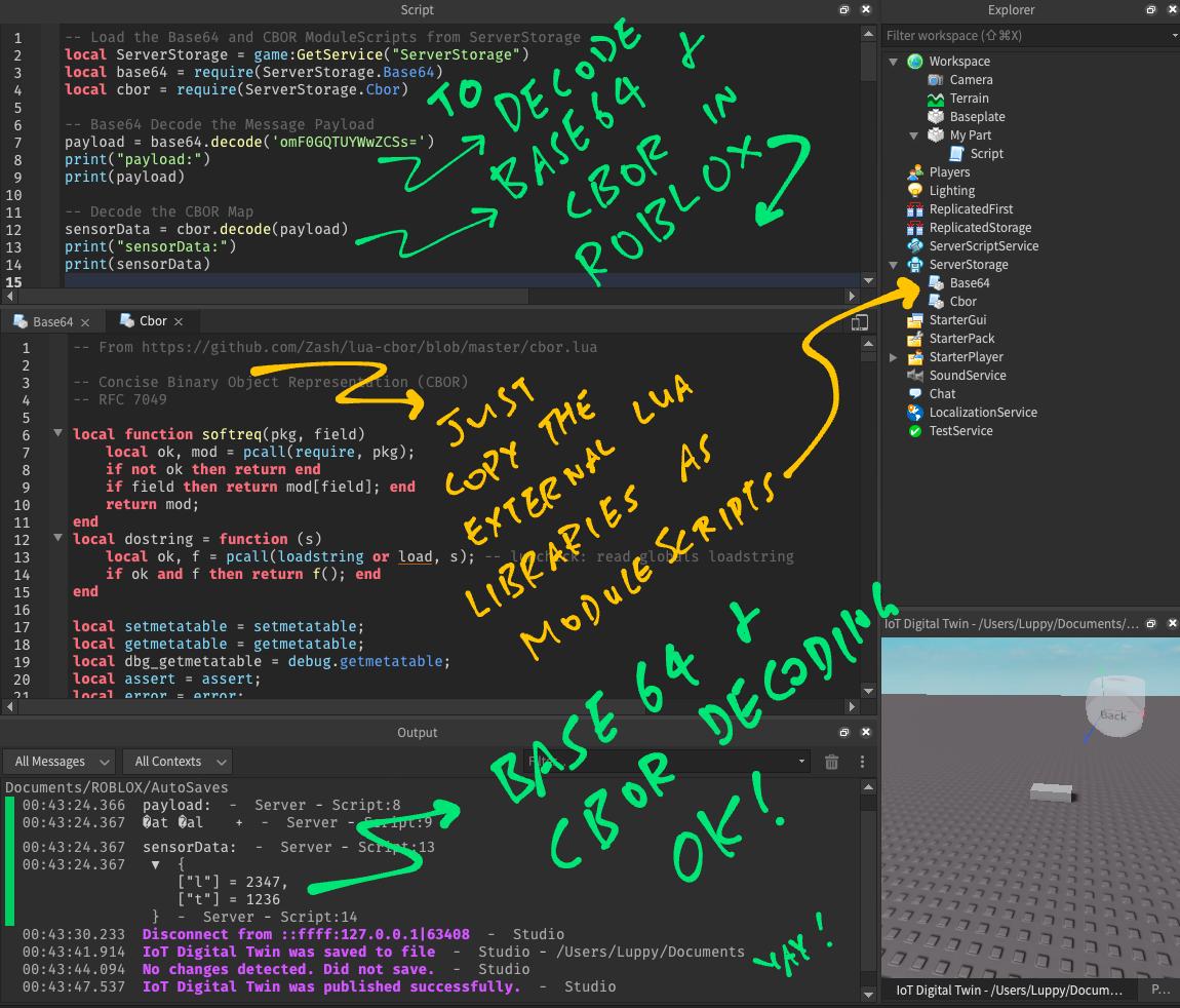Porting Lua Libraries into Roblox