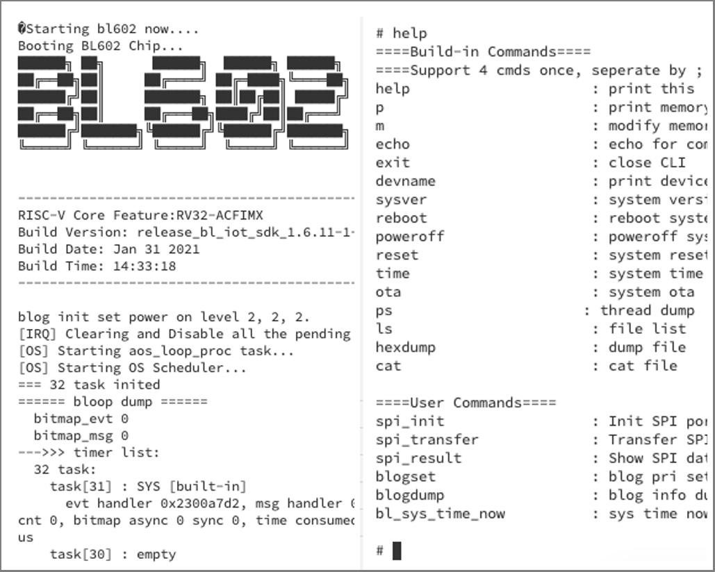 SPI Demo Firmware for BL602