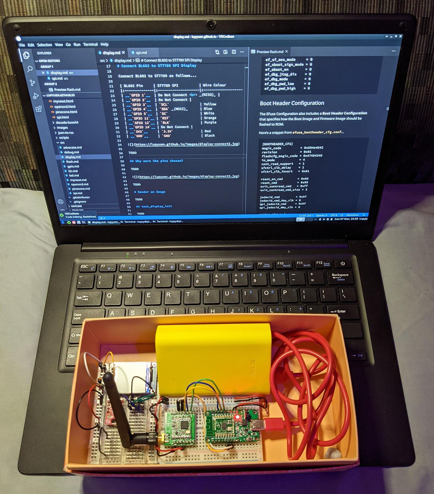 LoRa Transmitter Kit with PineCone BL602